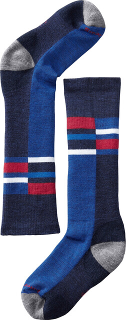 Smartwool Kids Wintersport Stripe Navy